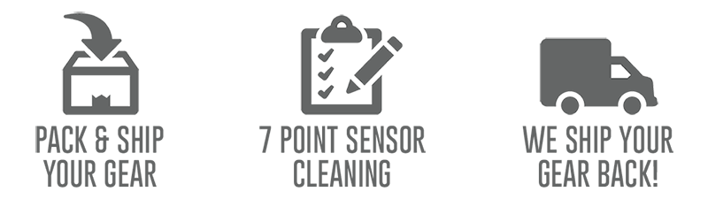 Professional Sensor Cleaning Service