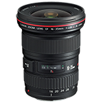 Canon Wide Angle Lens EF 16-35mm 1:2.8L II