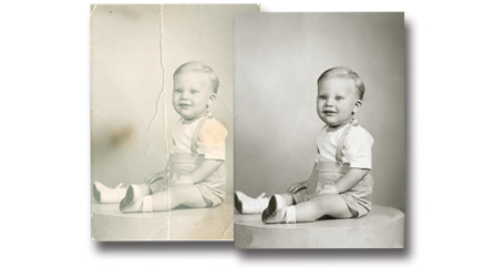 Photo Restoration Services - Perfect Image Camera