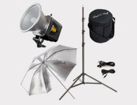 1-lightAlien Bee B800 Monolight, 1 Light Kit - Studio Lighting Equipment Rentals