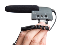 Sennheiser MKE400 Shotgun Mic - Video Recording Rental Equipment