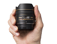 Nikon 10.5mm Fisheye Lens Rental