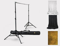 Studio Backdrop Frame & Cloth Backdrops - Professional Studio Lighiting Rentals