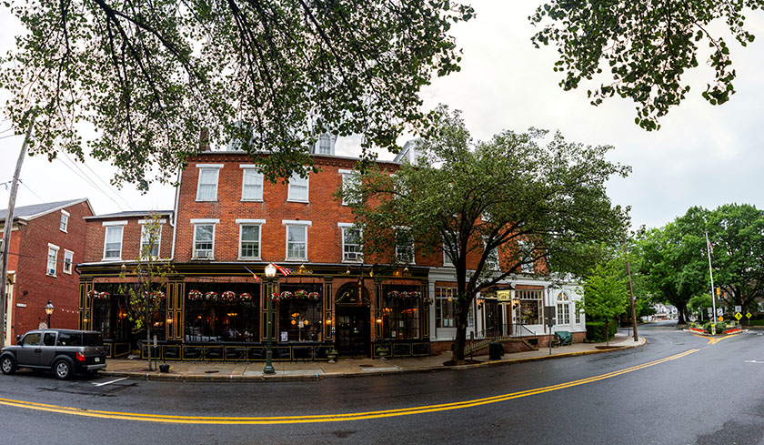 Bulls Head Public House - Lititz, PA | Projection set to Spherical. Original finished file effectively 75 megapixels.