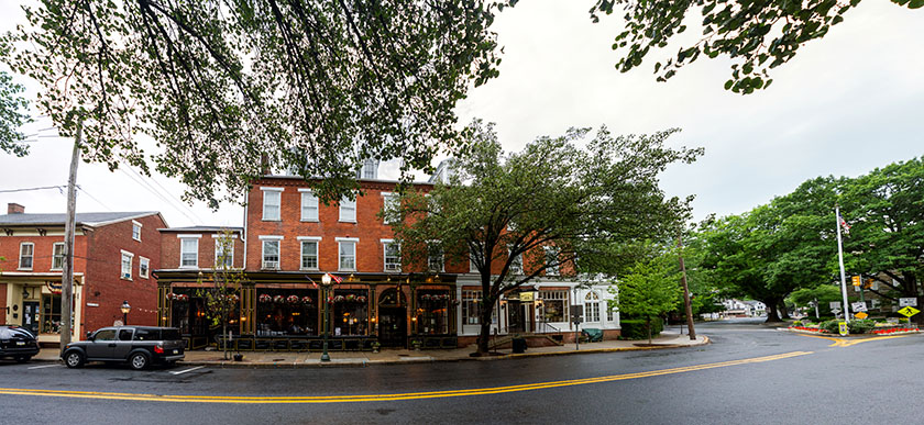 Bulls Head Public House - Lititz, PA | Projection set to Perspective. Original finished file effectively 212 megapixels.