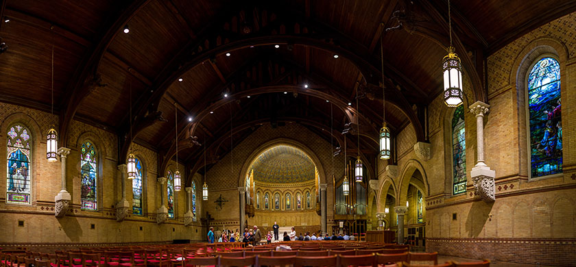 St Stephen's Episcopal Church - Wilkes-Barre, PA | The original stitched file is 30 shot composite that is the equivalent of a 75 megapixel image.