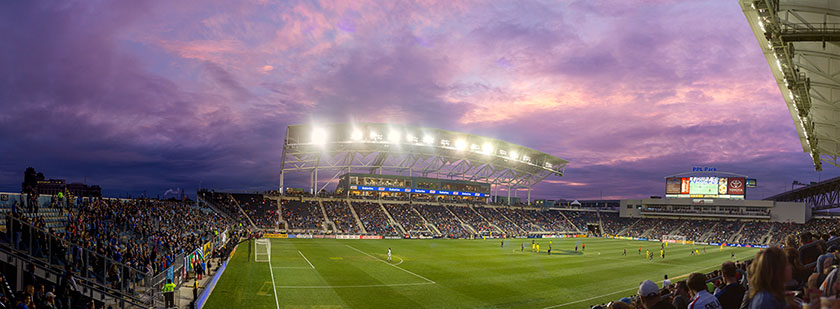 PPL Park - Chester, PA | Original stitched pano is effectively a 54 megapixel file.