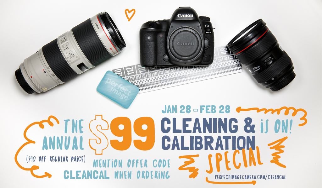 The Annual Cleaning & Calibration Special – Perfect Image Camera